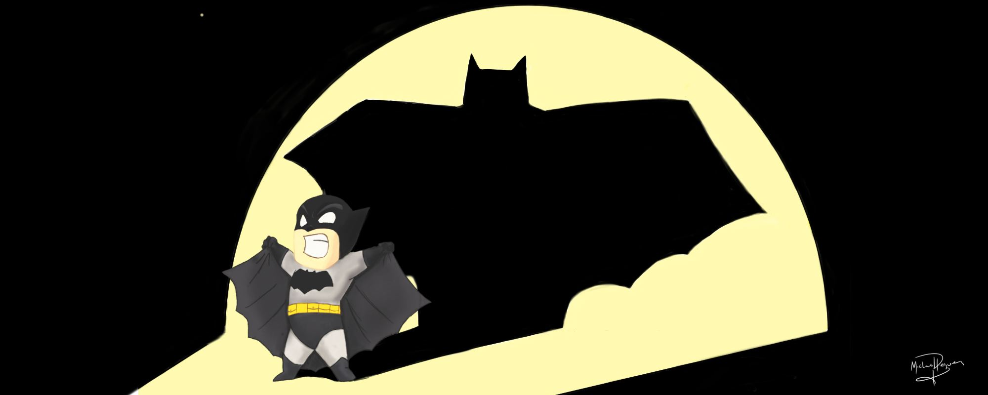 I'm Batman! by MPRocker13