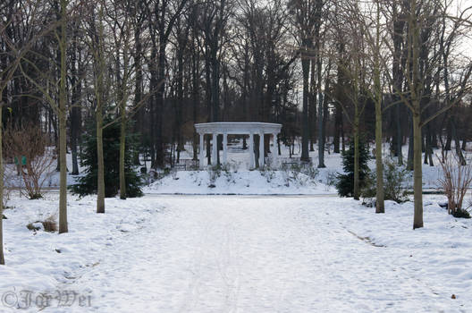 Pavilion far away
