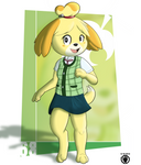 Isabelle by MikeYokite