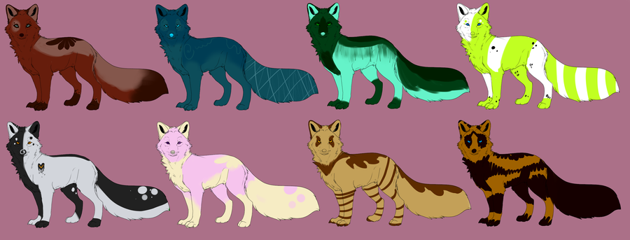 Fox Adopts For Sallee by skinnedwolf