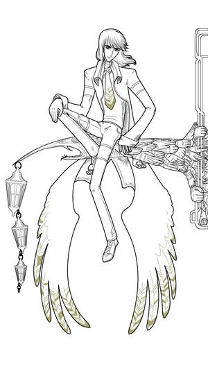Character design Vinc