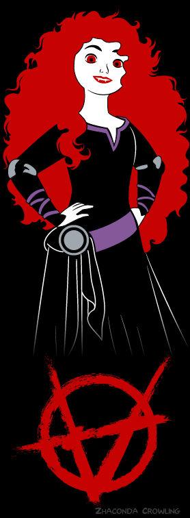 Vampire Princesses-Merida