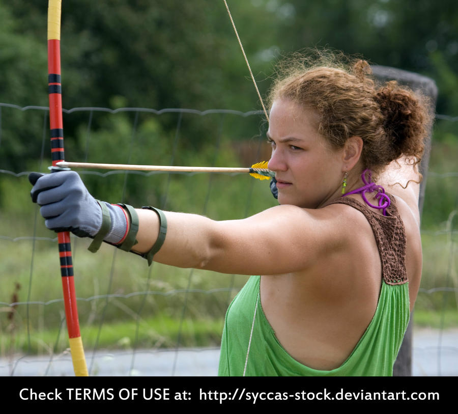 Female Archer 5 by syccas-stock