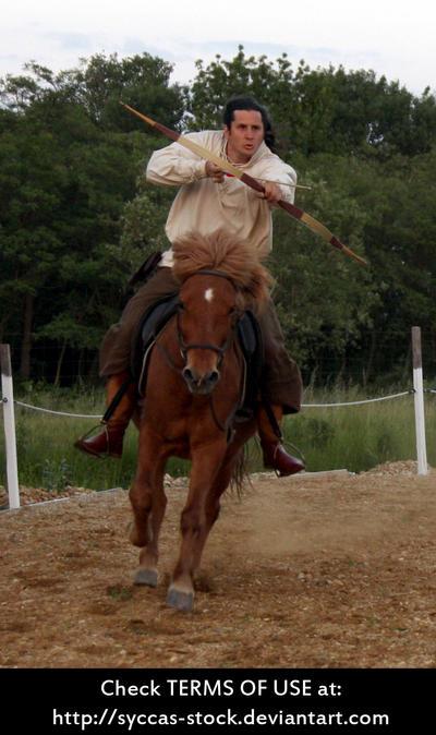 Horseback Archer 11 by syccas-stock