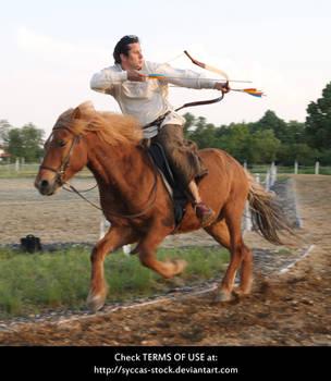Horseback Archer 18 by syccas-stock