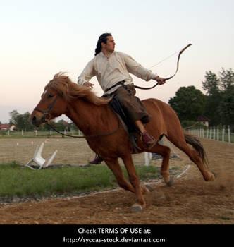 Horseback Archer 19 by syccas-stock
