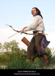 Hungarian Archer 3 by syccas-stock