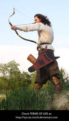 Hungarian Archer 6 by syccas-stock