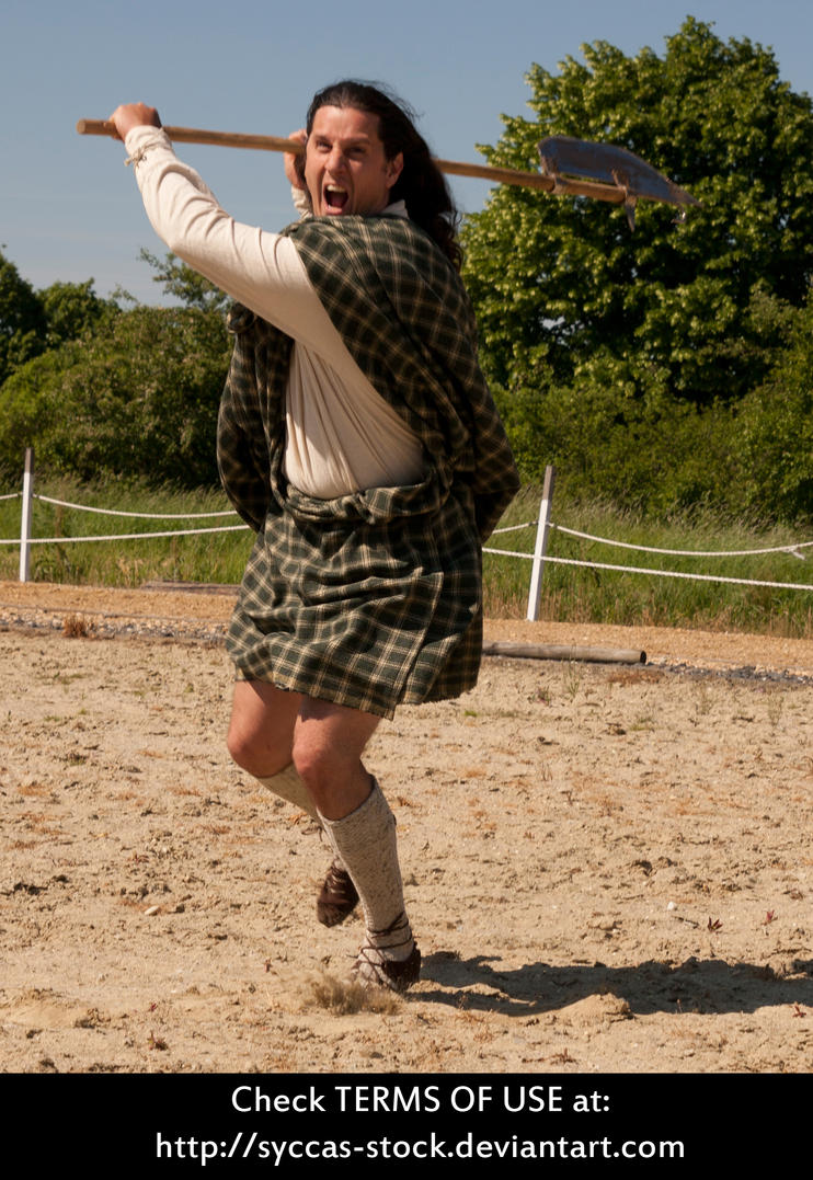 Highlander Attacks 1 by syccas-stock
