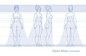 Queen Yulena- turnaround by fabiolagarza