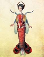 Lady Mantis Shrimp by fabiolagarza