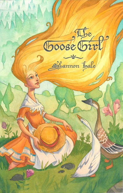 The Goose Girl Cover by fabiolagarza