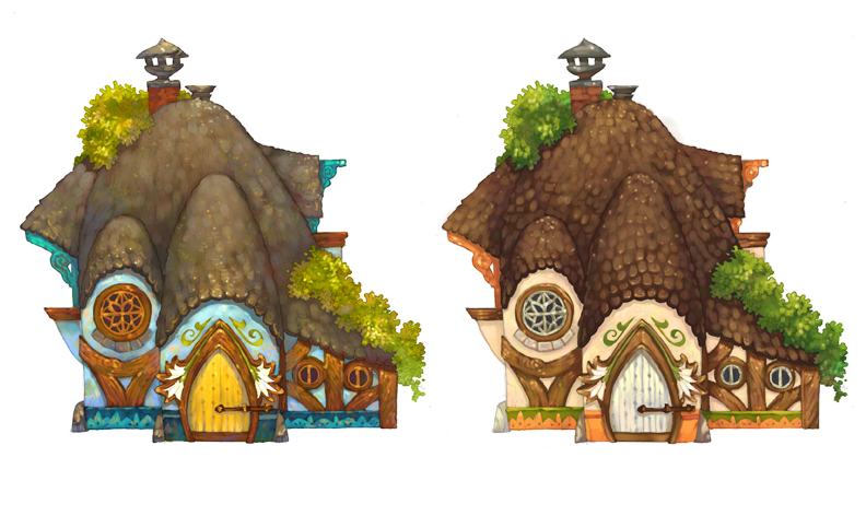 Anya's Cottage by fabiolagarza