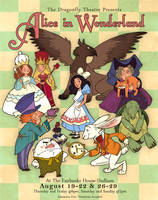 Alice in Wonderland by fabiolagarza