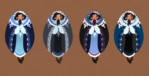 Lucia's Winter Cloak