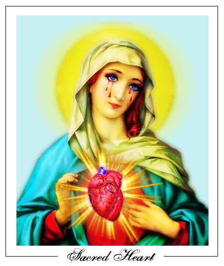 Sacred Heart by C00LB0Y