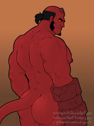 Hellboy by headingsouth