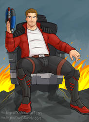 Commission: Star Lord by headingsouth