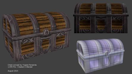 3D Chest by KillerChair3D