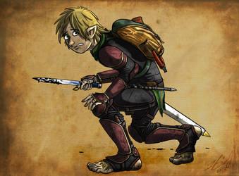 Borin Buckethissel - Halfling Rogue