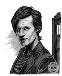 Doctor Who by ThinkingNerdyArt