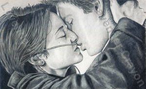 Hazel and Gus (The Fault In Our Stars) by Lavender-Crayon