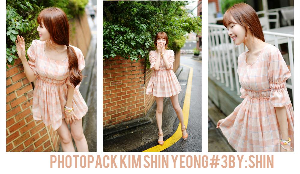 Photopack Kim Shin Yeong#3 By:Shin by Shin58