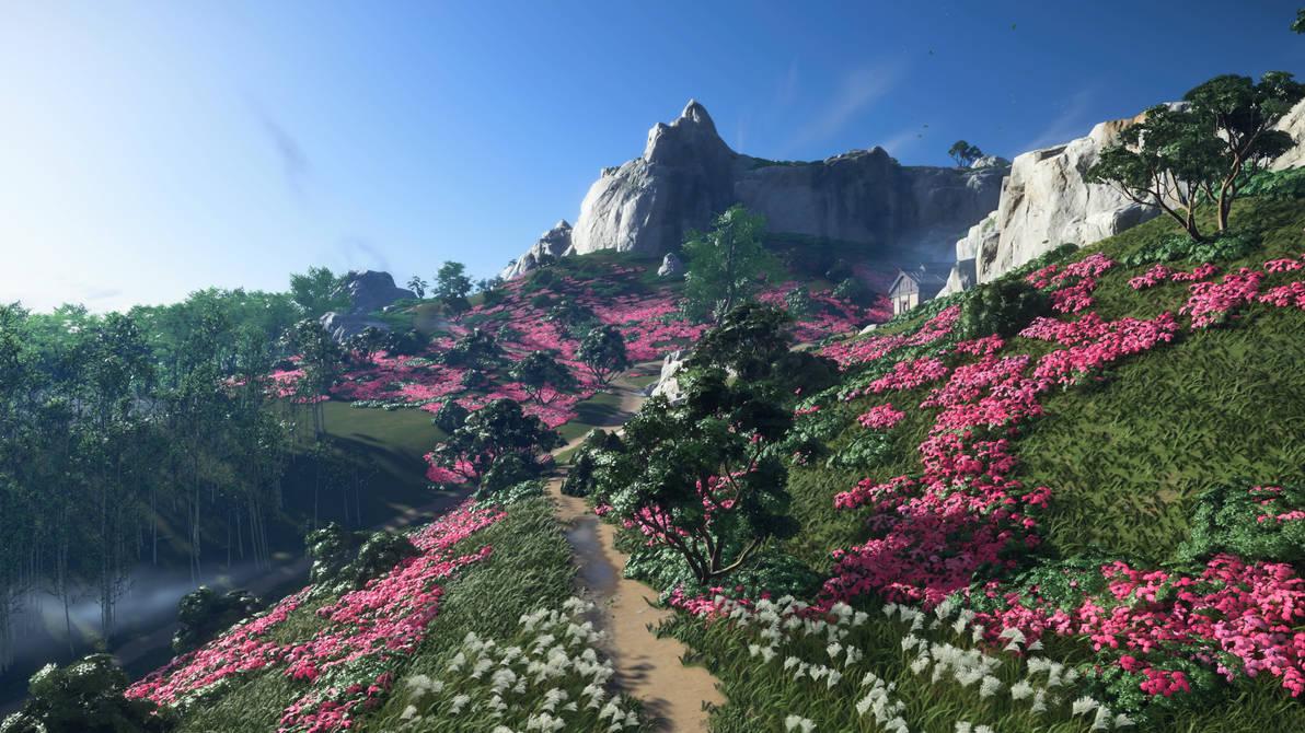 Valley Path (Screenshot)