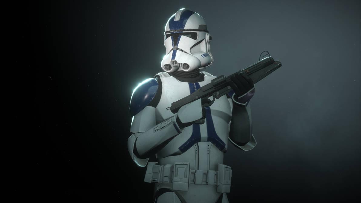 501st Legion Clone SW Battlefront II (Screenshot)