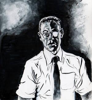 Gustavo Fring Ink Portrait