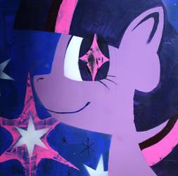 Twilight Sparkle (fim acrylic series)