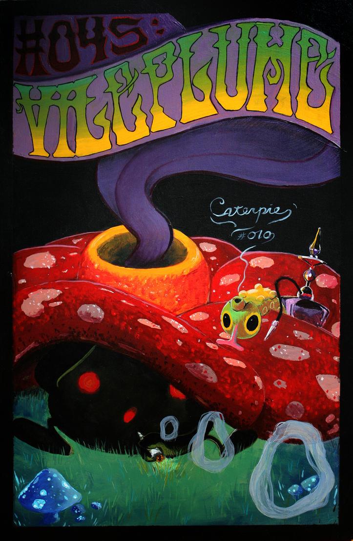 Vileplume Acid Rock by bagshotrow