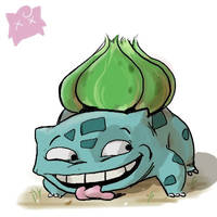 Bulbasaur is dumb by bagshotrow