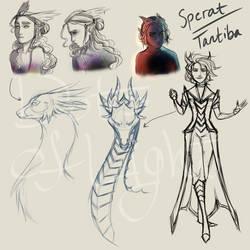 Sperat and Tantiba Sketches