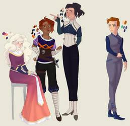 The Main Ladies