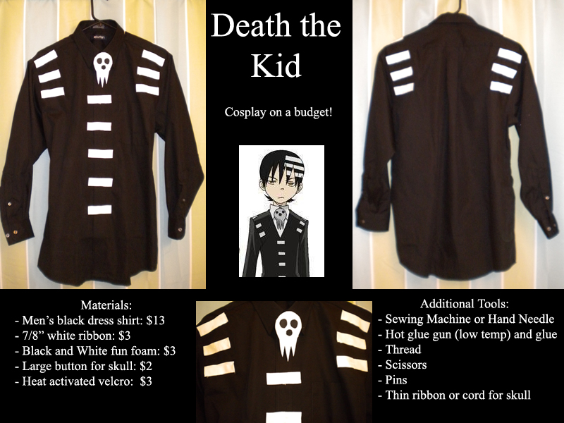 Death the Kid: Budget Cosplay