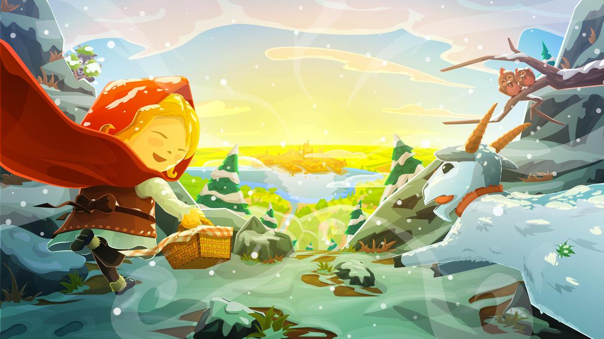 Brave'n'Little - Main screen by deArcane