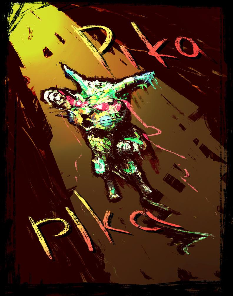 Pika Pika by deArcane