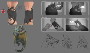 IL5 Bracer Dragon Concept (Game Feature)