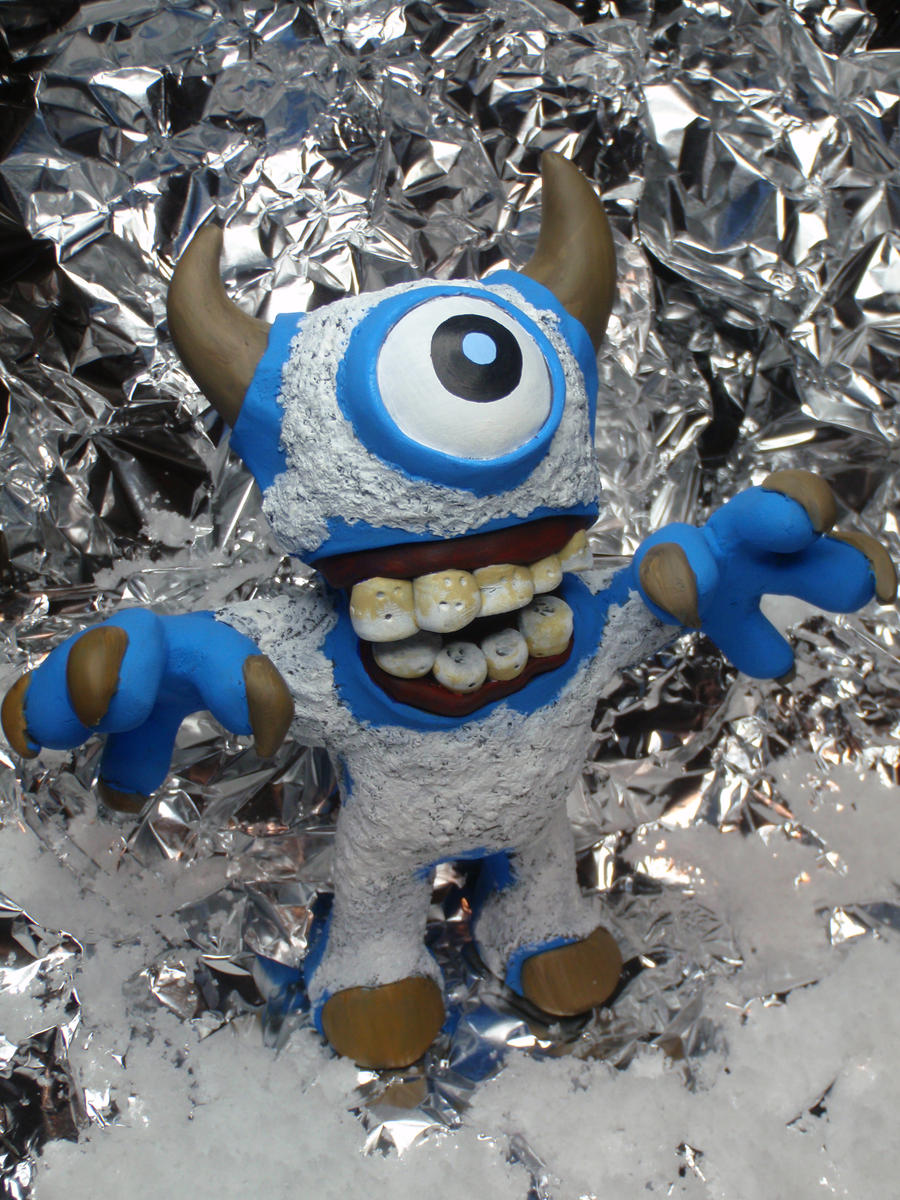 Ice Cave YETI by hellgnome