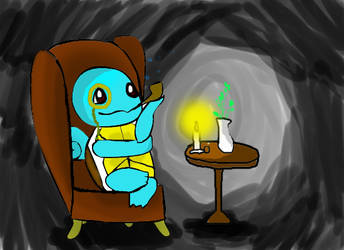witty squirtle by chompimas