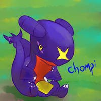 My babeh :3 by chompimas