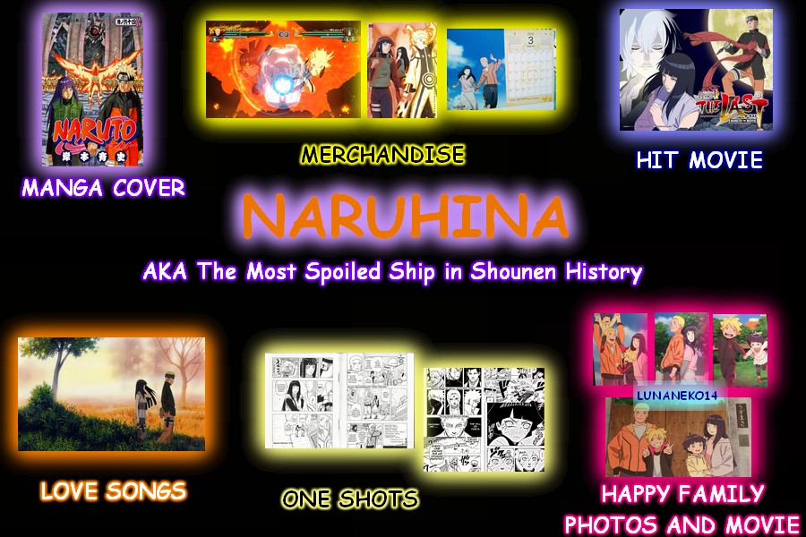 Image result for naruhina the most spoil
