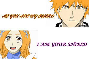 Ichihime: Sword And Shield (Colored) by lunaneko144