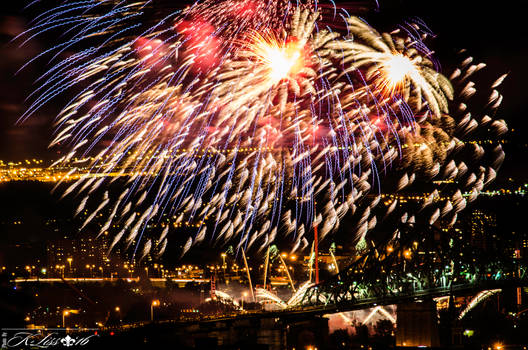 Montreal Internation fireworks 2016
