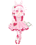Mika, the Berry Sweet Assistant | Fairy Vial