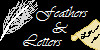 feathers and letters icon by AskTora