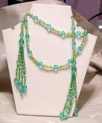 Spirals Lariat Necklace by KnotGypsy