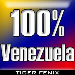 100 por ciento Venezuela by Tiger-Fenix