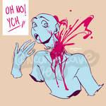 [YCH] semi-closed - Oh no!